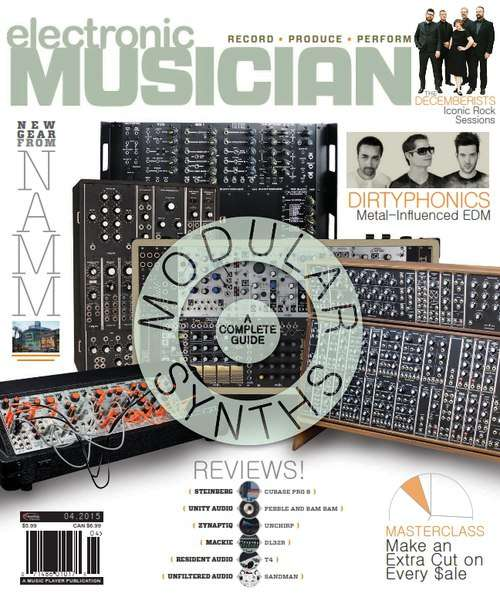 Electronic Musician – April 2015
