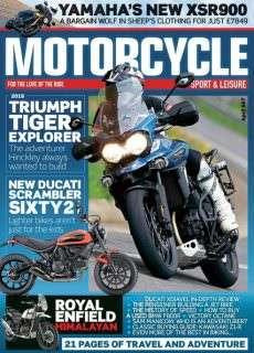 Motorcycle Sport & Leisure – April 2016