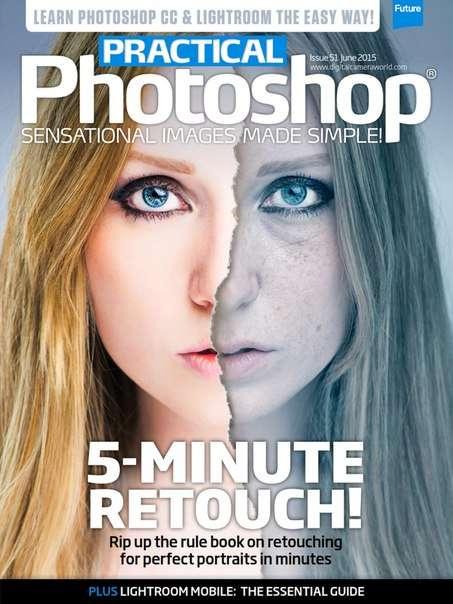 Practical Photoshop – June 2015 UK