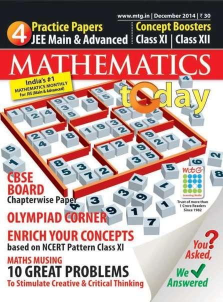 Mathematics Today – December 2014