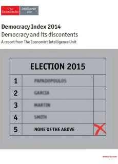The Economist (Intelligence Unit) – Democracy index 2014 (2015)