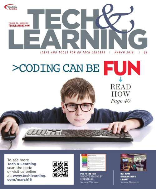 Tech & Learning – March 2016