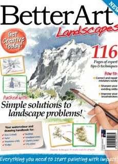 Better Art Magazine Issue Landscapes,2015