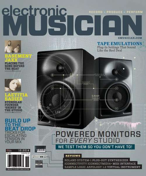 Electronic Musician – October 2014