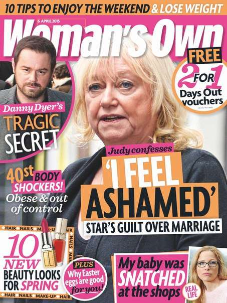 Woman's Own – 6 April 2015