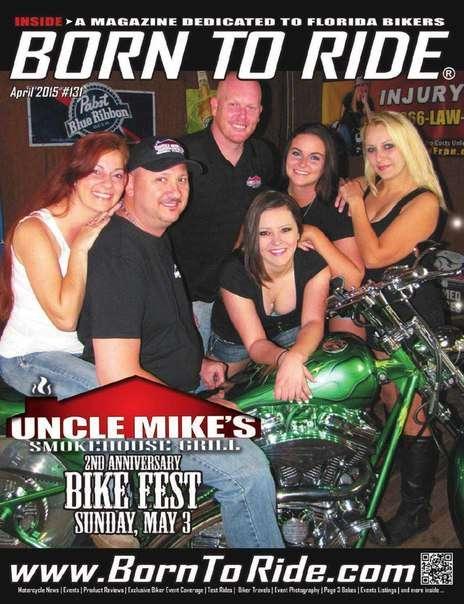 Born To Ride Florida Magazine April 2015