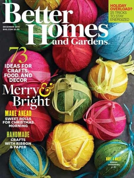 Better Homes and Gardens – December 2015