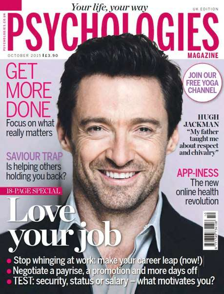 Psychologies October 2015 UK