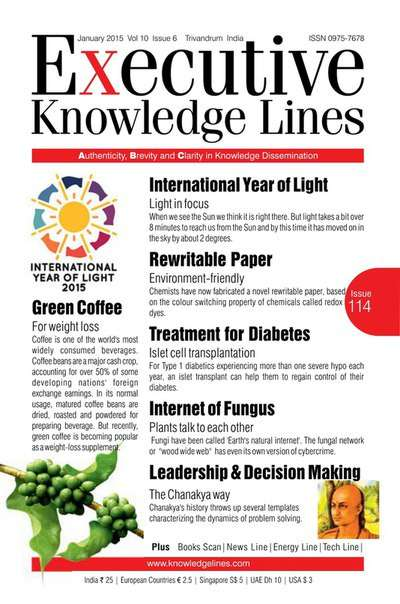 Executive Knowledge Lines, Volume 10 Issue 6 – January 2015