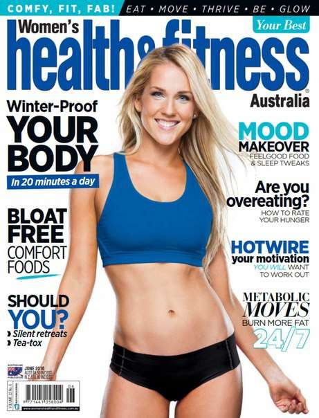 Women 39 s Health & Fitness – June 2016 AU