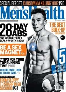 Men's Health Singapore – March 2015