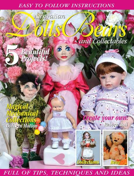 Dolls Bears & Collections Vol21 No3