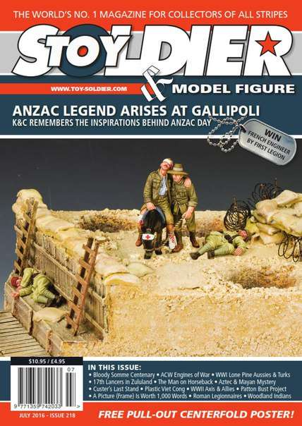 Toy Soldier & Model Figure – July 2016
