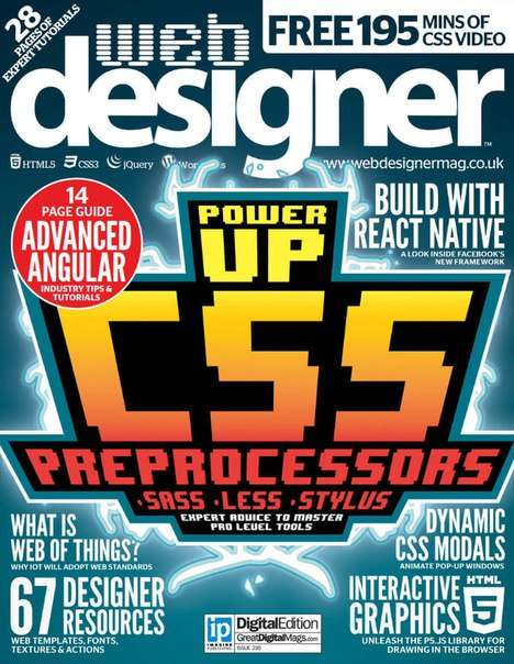 Web Designer Issue 236 – 2015 UK
