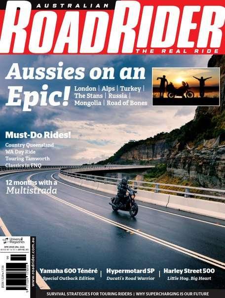 Australian Road Rider – April 2015
