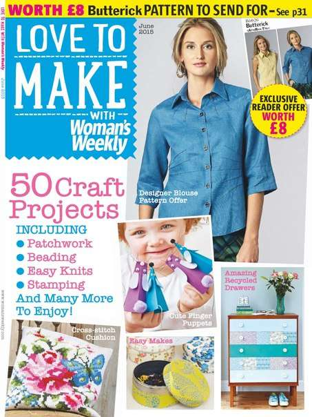 Love to make with Woman's Weekly – June 2015