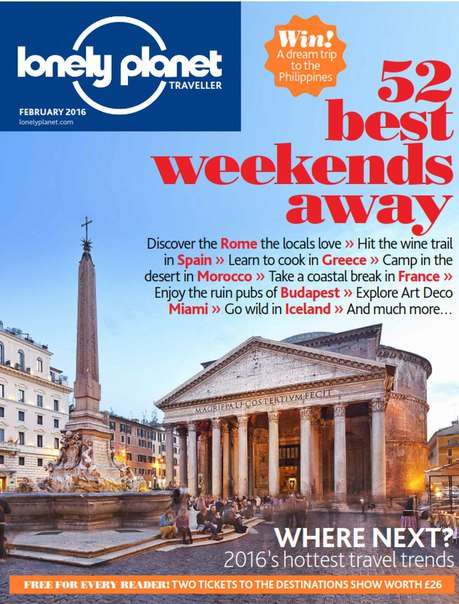 Lonely Planet Traveller – February 2016