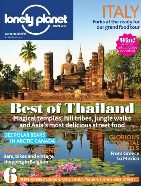 Lonely Planet Traveller – November 2015 UK