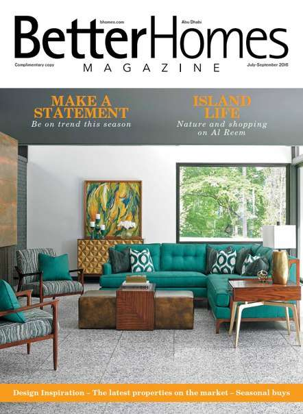 Better Homes Abu Dhabi – July/September 2016