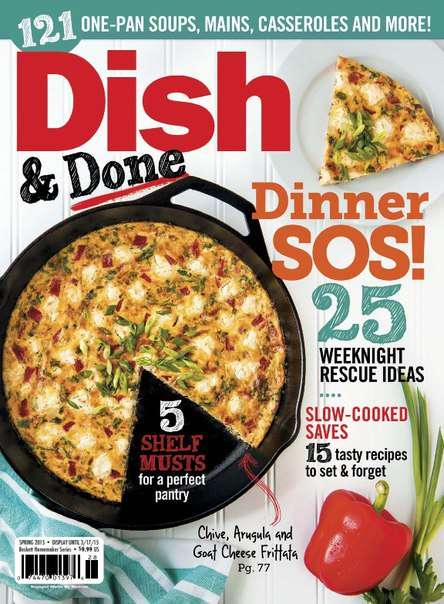YUM Food & Fun for Kids – Dish & Done Spring 2015