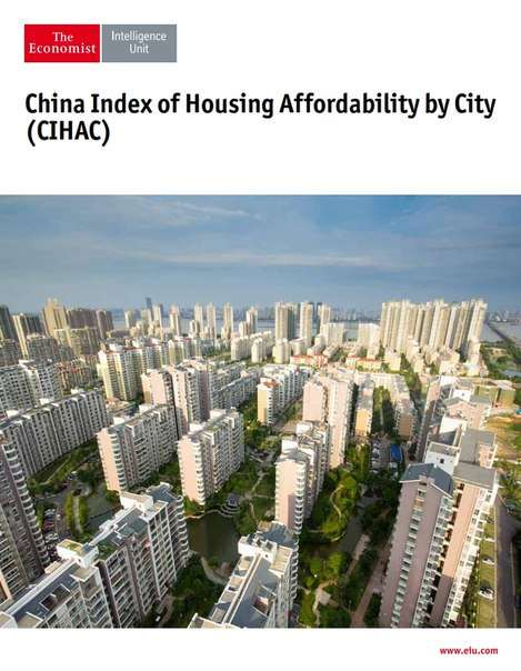 The Economist Intelligence Unit China index of Housing Affordability by City