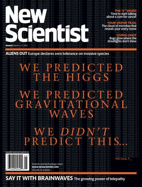 New Scientist – March 5-11, 2016