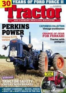Tractor & Farming Heritage – April 2015