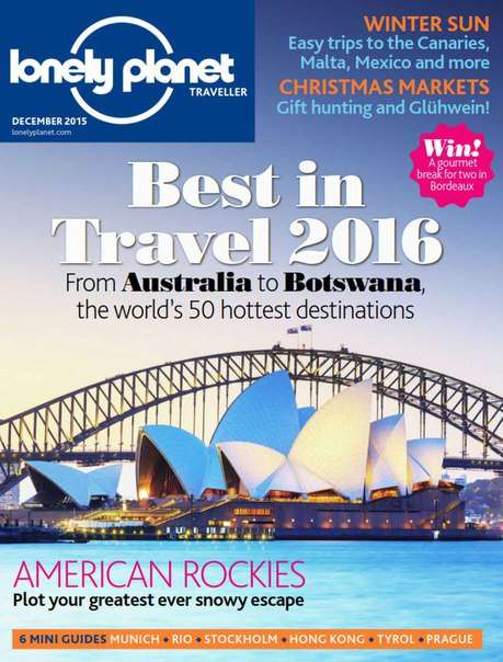 Lonely Planet Traveller – December 2015