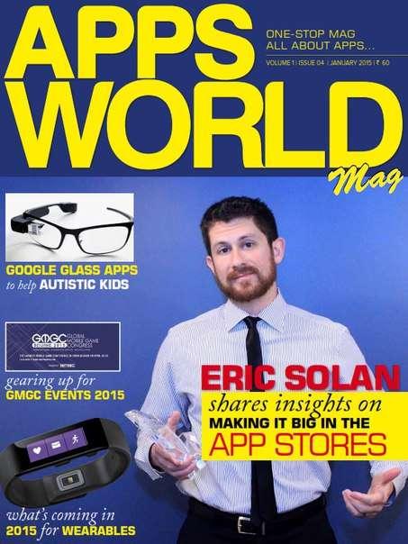 Apps World Mag Magazine January 2015