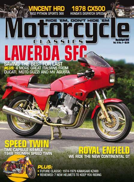 Motorcycle Classics – March/April 2015