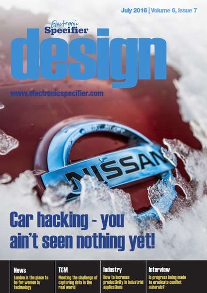 Electronic Specifier Design – July 2016