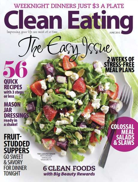 Clean Eating – June 2015 USA