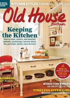 Old House Journal – March-April 2016