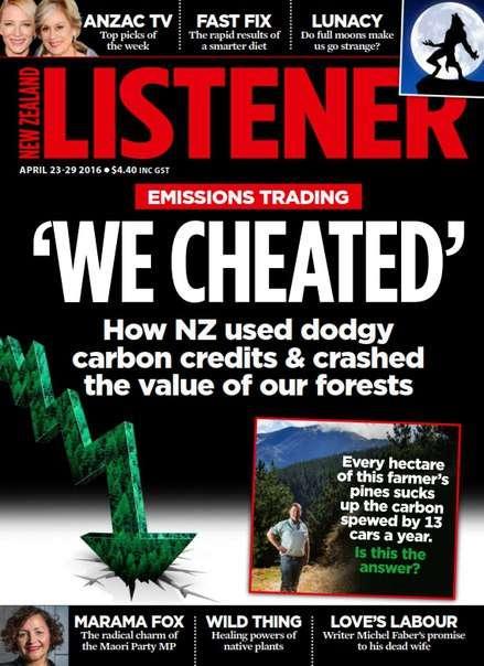 New Zealand Listener – April 23-29, 2016