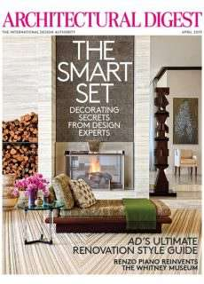 Architectural Digest – April 2015