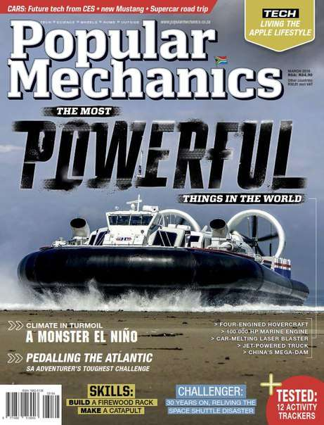 Popular Mechanics South Africa – March 2016