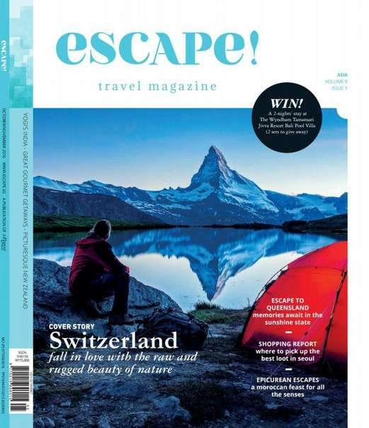Escape! Asia Vol 9 Issue 1 – October-November 2016