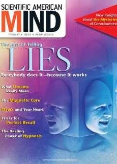 The joys of telling lies – April 2005