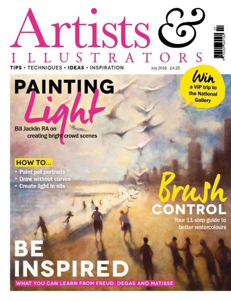 Artists & Illustrators  July 2016