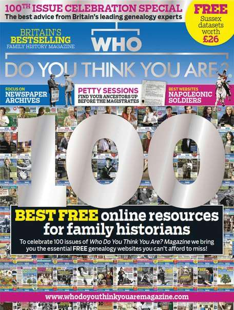 Who Do You Think You Are – June 2015