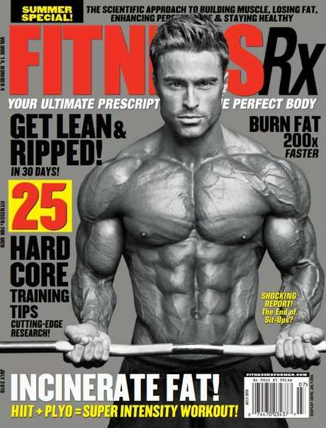 Fitness Rx for Men – July 2016 USA