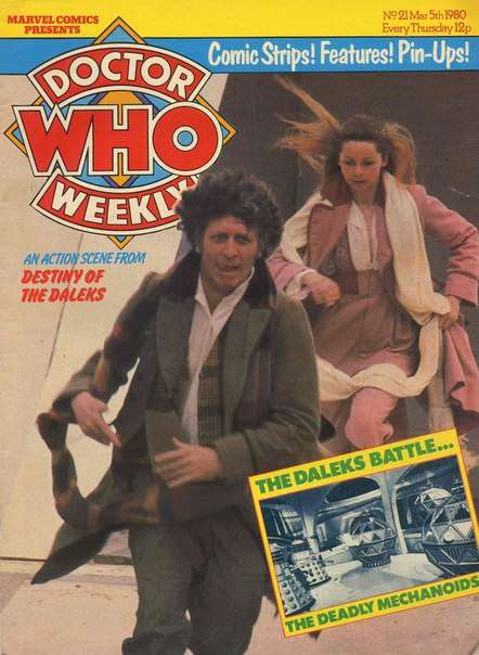 Doctor Who Weekly – Issue 021 (1980)