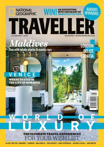 National Geographic Traveler UK – July August 2015