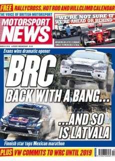 Motorsport News – 9 March 2016