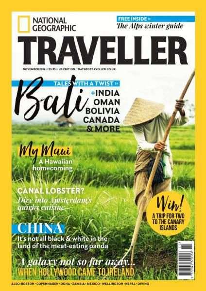 National Geographic Traveller UK – November 2016