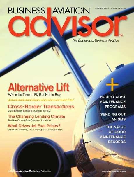 Business Aviation Advisor – September/October 2014