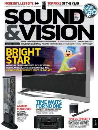 Sound & Vision – March 2016