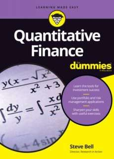 Quantitative Finance For Dummies (2016)