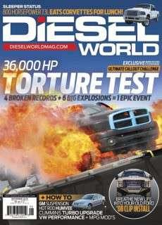 Diesel World – September 2016