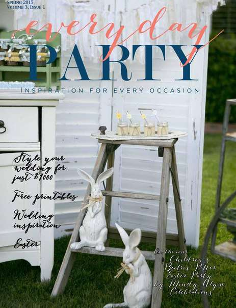 Everyday Party Volume 3, Issue 1 – Spring 2015